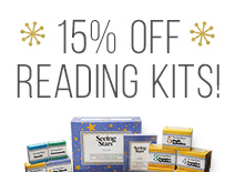 15% Off Reading Kits!