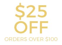 Save $25!